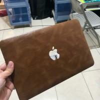 Macbook Pro 16 Inch Touchbar A2141 Kulit Leather Hard Case Cover