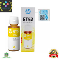 HP Tinta GT53 Yellow Original 90ml Ink Bottle 90 ml GT 53 - Yellow