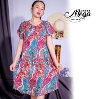 Daster Mega | Dress Vega Payung | Baju Midi Tidur | polos bali XXL 03