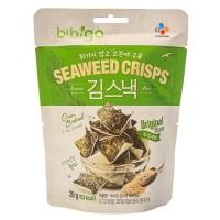 Cj Bibigo Seaweed Crips Original 20gr - Snack Rumput Laut Korea