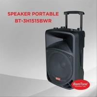 Portable Meeting Amplifier Baretone + 2 Mic BT-3H1515 BWR