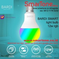 BARDI Smart LIGHT BULB RGB+WW 12W Wifi Wireless IoT - Home Automat CBG