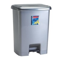 Tempat sampah injak lionstar c32 ukuran 25 liter