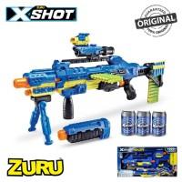 Zuru X-Shot Ninja Justice Blaster - Foam Dart - Scope - Can