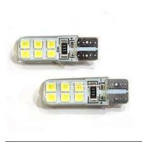 lampu led T10 gel jelly silicon lampu sein senja t10 universal