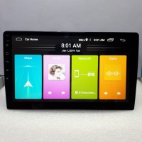 Headunit Android Skeleton SKT 8189 WiFi Glass Panel 9 inch