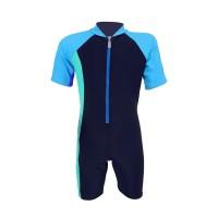 Arena Childrens Sunsuit NB AUV-20306 Baju Renang Jumpsuit Anak Biru