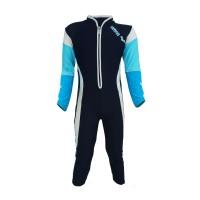 Arena Childrens Sunshirts NB AUV-20366 Baju Renang Jumpsuit Anak Biru