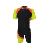 Arena Childrens Sunsuit BK AUV-20313 Baju Renang Jumpsuit Anak Hitam