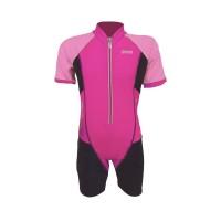 Arena Childrens Sunsuit PK AUV-20315 Baju Renang Jumpsuit Anak Pink
