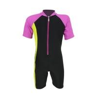 Arena Childrens Sunsuit BK AUV-20306 Baju Renang Jumpsuit Anak Hitam