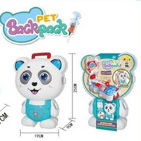 Mainan Anak - Pet Backpack Panda, Frog, Cat