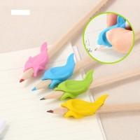 Dolphin Pencil Helper Pencil Holder Pencil Grip Silicone Rubber Pensil