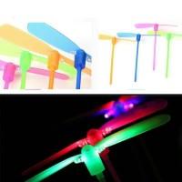 Mainan Baling Baling LED Lampu Terbang Baling Lampu Mainan Anak Jadul