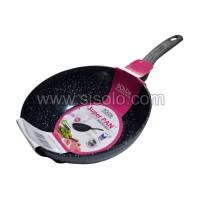 BOLDe Super Pan Wok 24 Black Dark Knight Granite Series Cookware