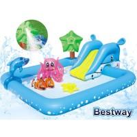 Kolam Renang Anak Fantastic Aquarium Play Pool Bestway 53052
