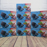 New 2DS XL / LL Black Turquoise CFW Permanen 32GB Full Games