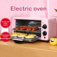 Oven Listrik 12L 3 Tingkat Pemanggang Baking Kesun TO-128