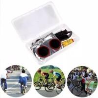 Reumofands Peralatan Portable Tambal Ban Sepeda