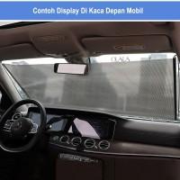 Pelindung kaca mobil / Sun Shield / anti panas model gulung OLL-4258/5