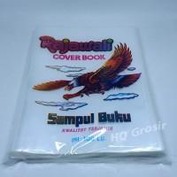 Sampul Buku Tulis Plastik Rajawali - 1 pack isi 100 lembar