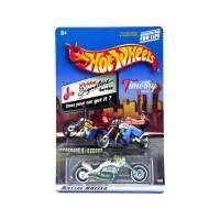 Hotwheels Murah Motor Blast Lane Jiffy Lube putih