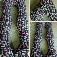 bantal hamil dan menyusui pink cat merah