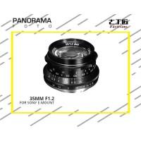 Lensa 7Artisans 35mm f1.2 for Sony E-Mount