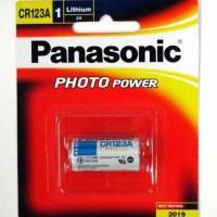 Panasonic Battery 3V Lithium CR123A