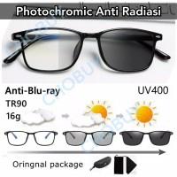 COD Kacamata Sunglass Anti radiasi blueray Photocromic 806