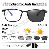 COD kacamata bluechromic fotocromic sunglass anti radiasi blueray 806
