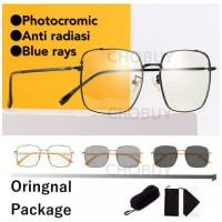COD Kacamata Blueray anti radiasi photocromoc berubah warna