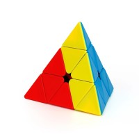 Rubik Pyraminx - Moyu Teaching Series - Stickerless Original