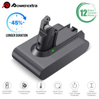 POWEREXTRA 21.6V 4000mAh Replacement Battery compatible for Dyson V6