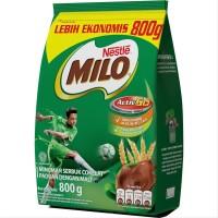 MILO ACTIV-GO Minuman Serbuk Cokelat Paduan dengan Malt Pouch 800g