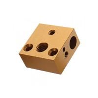 Heat Block Aluminium untuk Creality Ender 3| Ender 5 | CR10 | CR10S