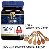 Madu Manuka Health MGO 115+ 500gram / Manuka Honey UMF 6+ 500gram