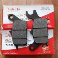 Dispad Depan BLADE / NEW / REVO / ABS / FIT / FI Kampas Rem Front