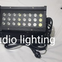 lampu taman city color LED waterproof 24x3 wat