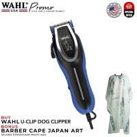 WAHL U-Clip Dog Clipper Kit 100% Original (Cukur Rambut Hewan)