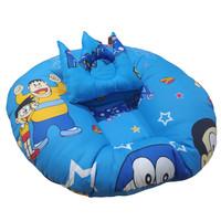 Jihan Collection - Sofa Bayi Motif Doraemon - Biru