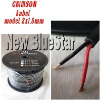 Kabel Speaker/Mic/Audio CRIMSON 2 X 1.5 MM - 100 Meter