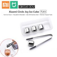 Xiaomi Mijia Circle Joy Ice Cube Es Batu Pendingin Minuman Stainless