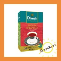 Dilmah English Breakfast Tea / Black Tea/ Instant Black Tea 20bags 40g