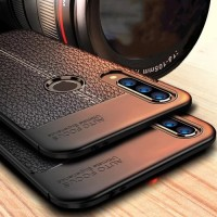Casing Vivo Y17 Y 17 Soft Case Black Matte Slim Back Cover Softcase