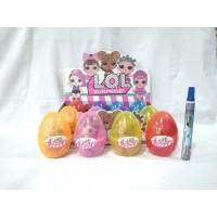 Mainan Anak Anak Egg Surprise LOL / Telor L.O.L Jumbo RANDOM