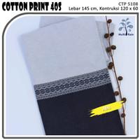 MUKA IG bahan kain cotton katun kemeja murah per 50 yard cat 24