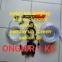 sett lengkap alat cuci motor ac mobil screen sablon ongkir 1kg