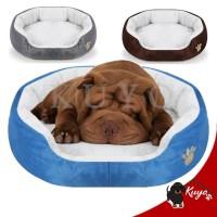 Bantal Tempat Tidur Anjing Kucing Kasur Bulu Hangat Pet Bed Alas Plush