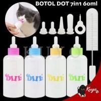 Botol Dot Susu Anak Anjing Kucing Hewan Kitten Puppy Perawatan Sakit